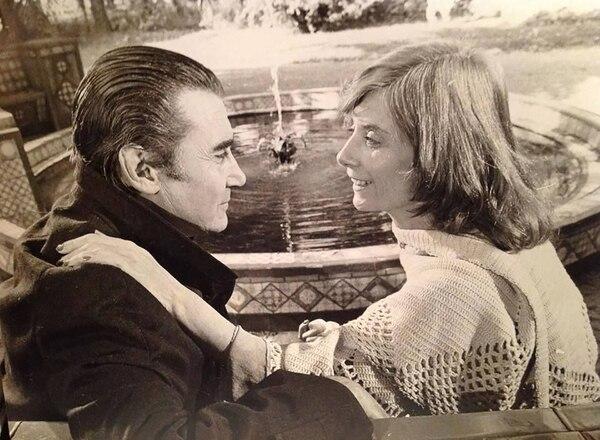 Bebán en otro de sus roles memorables junto a Graciela Dufau en Los espectaculares de ATC