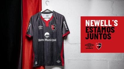 La tercera camiseta que Newell's había presentado antes de la rosada