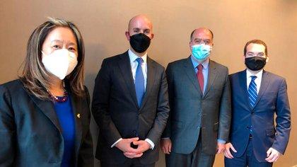 El canciller de Juan Guaidó se reunió con funcionarios del gobierno de Joe Biden