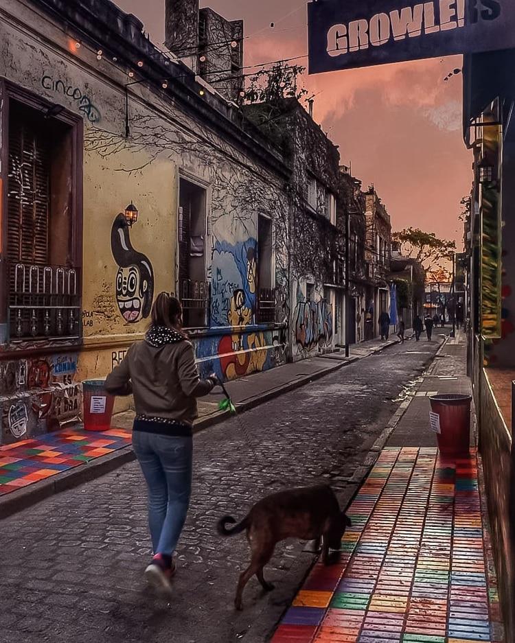 El street art del Pasaje Russel
