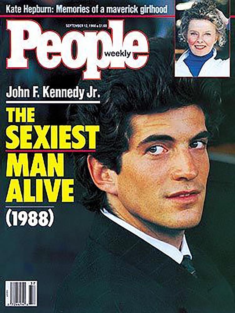 John F. Kennedy Jr. en la tapa de la revista 'People'
