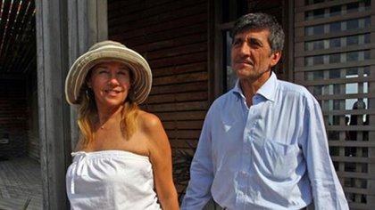 Marcela Tinayre y Marcos Gastaldi se casaron en el 2000 y al año siguiente tuvieron a su único hijo, Rocco