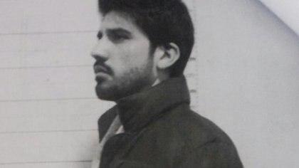 Veppo en foto policial tras su detención.