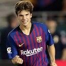 Riqui Puig entrena con el primer equipo del Barcelona