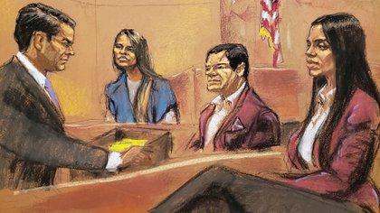 Lucero Sánchez fue uno de los últimos testigos de la Fiscalía (Foto: EFE)