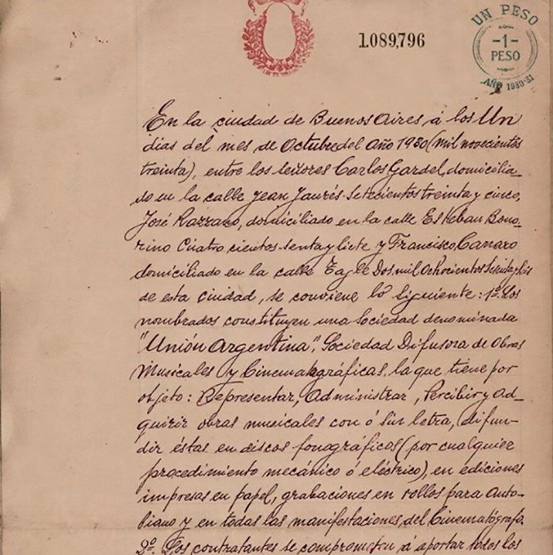 contrato gardel 1