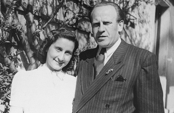Oskar y Emilie Schindler