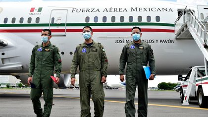 La aeronave llegó a México por primera vez en 2016 y fue Enrique Peña Nieto quien lo usó por dos años. El primer vuelo lo realizó el 10 de febrero del 2016 a Sonora (Foto: Cuartoscuro)