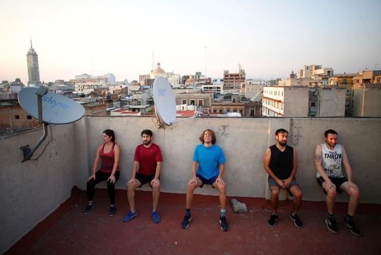 El ejercicio ayuda a la salud mental y física, el sueño y la inmunidad (REUTERS)