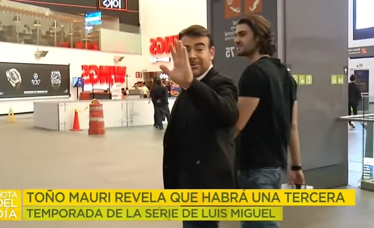 Toño Mauri aseguró que habrá serie de Luis Miguel para rato (Captura de pantalla)