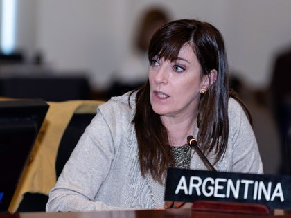 La embajadora argentina ante la OEA, Paula Bertol