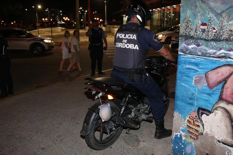 La policía cordobesa incautó la moto para periciarla