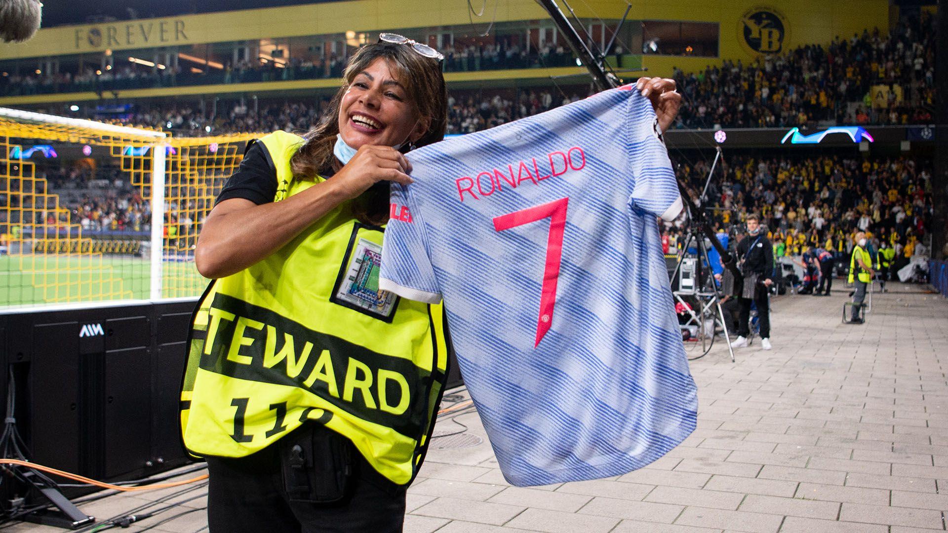 camiseta cristiano ronaldo mujer seguridad