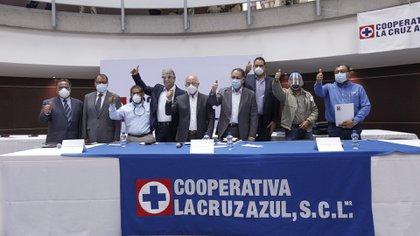 Presentación de la  Junta de Gobierno en las instalaciones de la Cooperativa en la Ciudad de México (Foto: Carlos Oliva/ Infobae México)