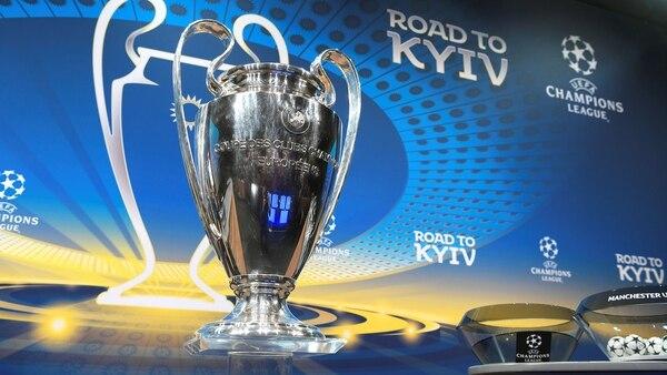 La final de la Champions League se jugará en Kiev, Ucrania (AFP)
