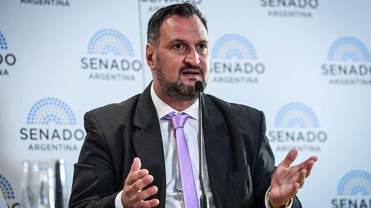 Luis Tagliapietra es abogado y fue el querellante que presentó las preguntas