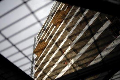 Imagen de archivo. Se muestra un edificio en construcción en la Ciudad de México, México 30 de enero de 2020. REUTERS/Andres Martinez Casares