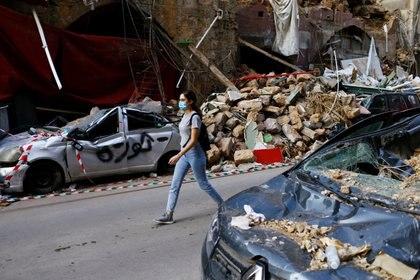 La mitad de los edificios de la ciudad sufrieron daños. (REUTERS/Thaier Al-Sudani)