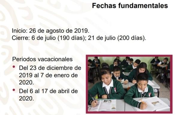Calendario Agosto 2020 Espana.Conoce El Nuevo Calendario Escolar 2019 2020 Estos Son Los