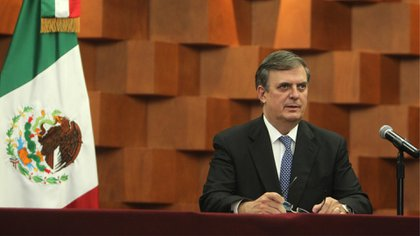 Marcelo Ebrard assured that the crimes of Mexican high command officers should be tried in Mexico (Photo: SRE)
