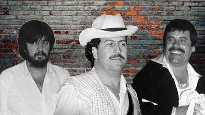 """Amado Carrillo, """"El Señor de los Cielos"""" y Joaquín """"El Chapo"""" Guzmán, hicieron alianza, por separado, con Pablo Escobar """"El Señor del mal"""" (Fotoarte: Steve Allen/Infoabe)"""
