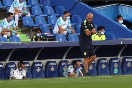 """El entrenador del Espanyol, Abelardo """"""""Pitu"""""""" Fernández. EFE/ Kiko Huesca/Archivo"""