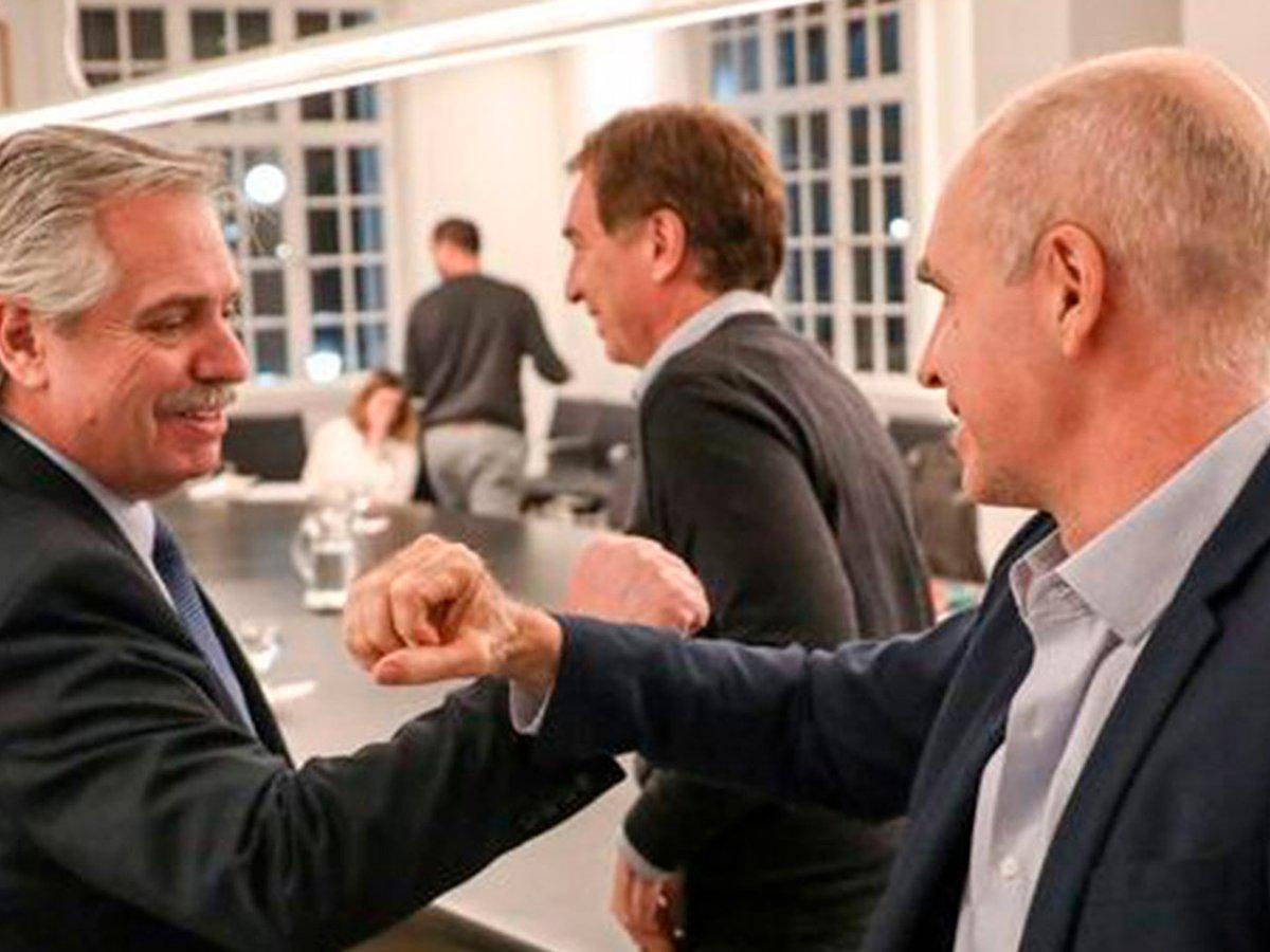 Tras varios desencuentros, Alberto Fernández y Rodríguez Larreta consensuaron una estrategia común para frenar los contagios