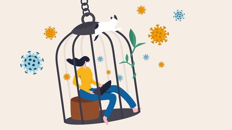 Todo indica que el tiempo en nuestras casas va a ser más largo de lo imaginado (Shutterstock.com)