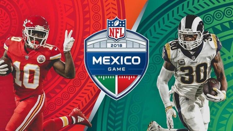 El partido entre Chiefs y Rams se jugará ahora en Los Ángeles (Foto  NFL dd8a7fdf7b1