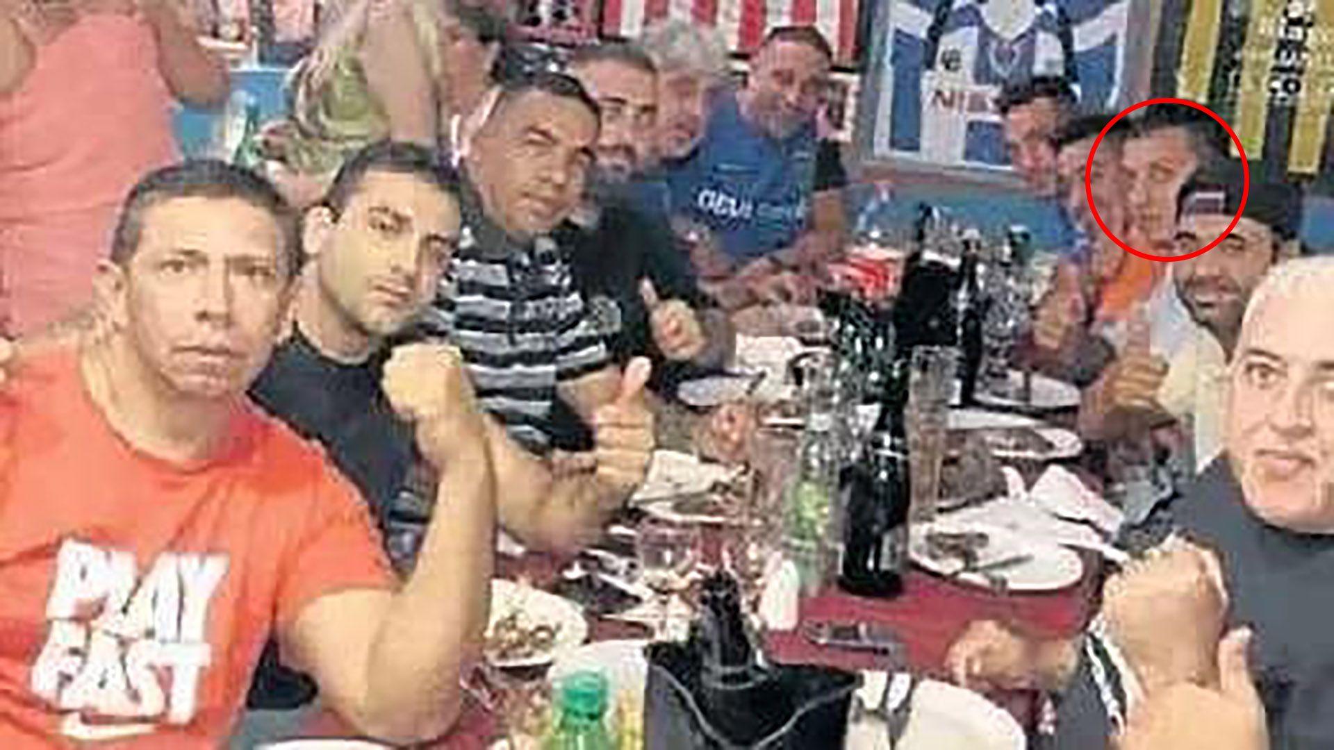 cena de la barra de Boca - Ariel Maximiliano Pinazzi