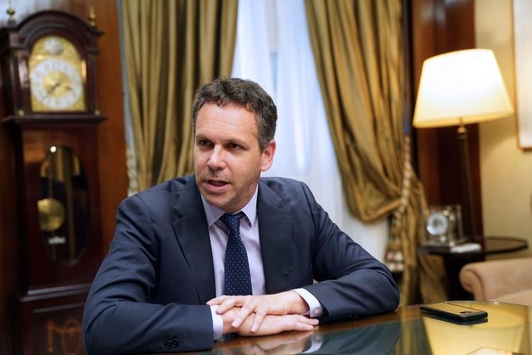 Guido Sandlerisen una entrevista con Bloomberg esta semana