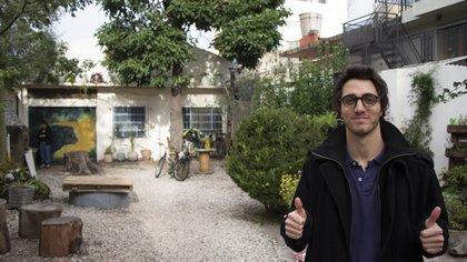 Máximo Mazzocco, fundador de Eco House, representará a Argentina en la semana de manifestaciones ambientales. (Thomas Khazki)