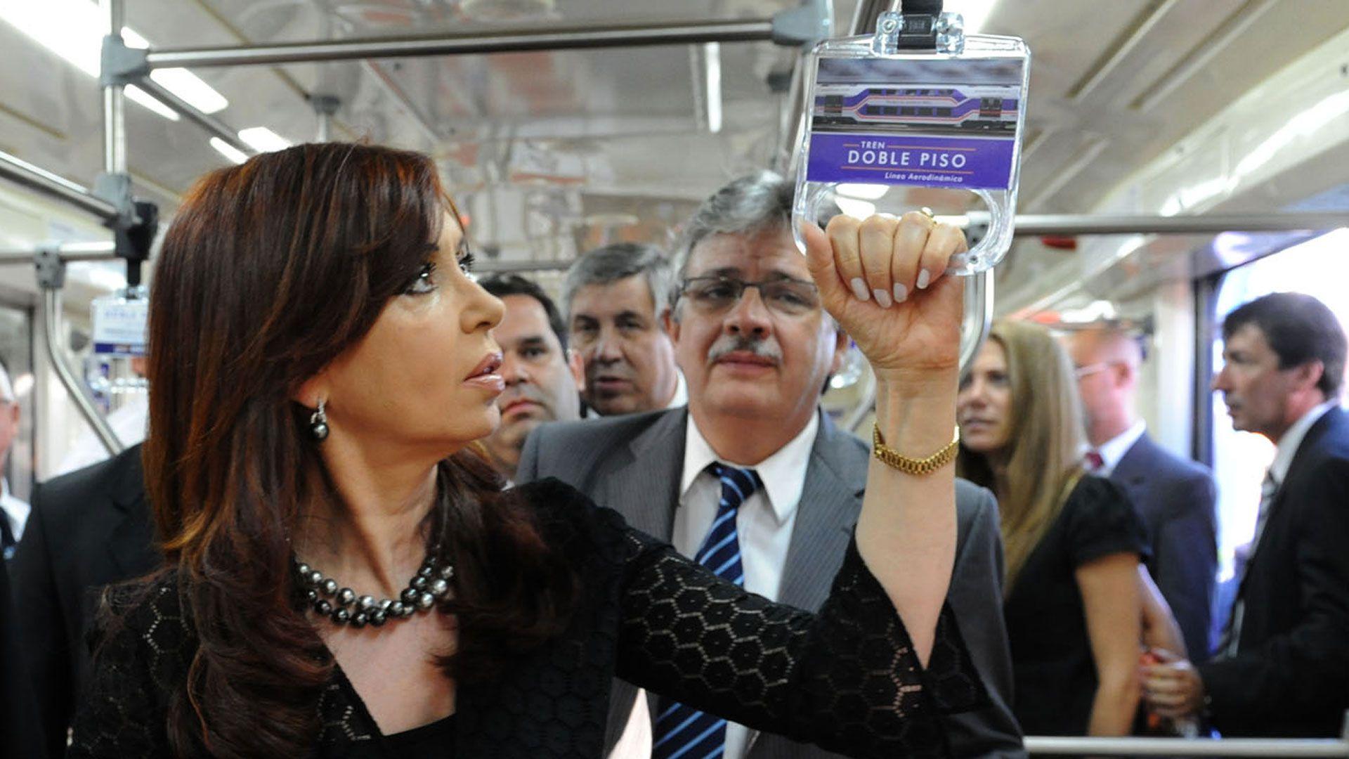 Schiavi fue secretario de Transporte de Cristina Kirchner entre julio de 2009 y marzo de 2012
