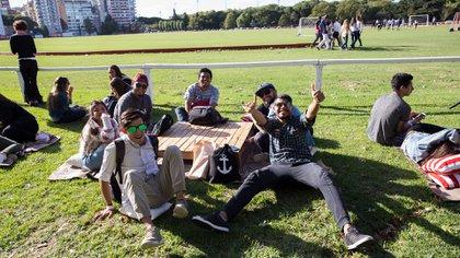 Organizaron una fiesta en el Campo Argentino de Polo para su recibimiento