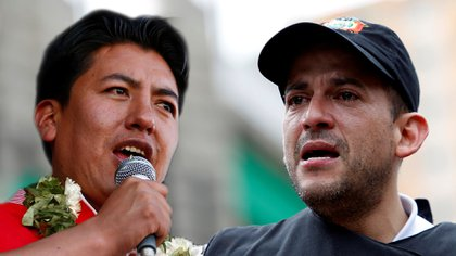 Marco Pumari y Luis Fernando Camacho, dos dirigentes cívicos que pujan la candidatura presidencial