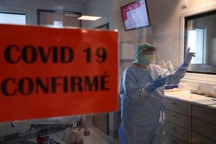Un hospital en Lieja, Bélgica, desbordado por los pacientes con Covid-19.