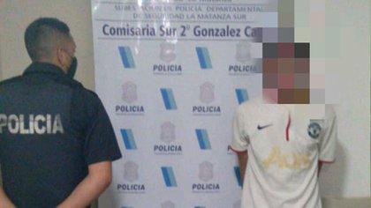 """""""Pinino"""" tiene 19 años y está acusado de al menos cinco robos en el partido de La Matanza"""