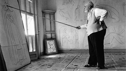 Henri Matisse, agosto de 1949 (Foto: Robert Capa)