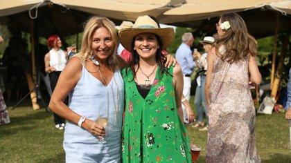 Daniela Marcuzzi y Larisa Andreani