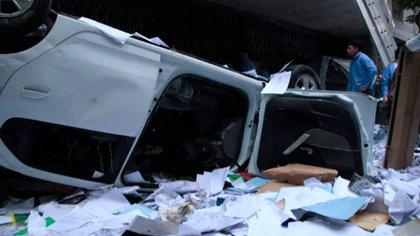 Los graves incidentes ocurrieron en la sede que tiene el gremio en CABA