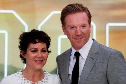 """Damian Lewis honró la memoria de la actriz Helen McCrory y habló sobre la """"brillante"""" vida de su compañera (Reuters)"""