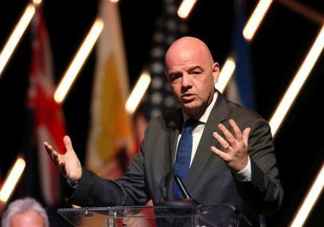 El presidente de la FIFA, Infantino, deberá dar fuertes señales al universo del fútbol tras los sucesos de San Pablo