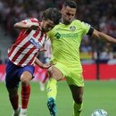 Soccer Football - La Liga Santander - Atletico Madrid v Getafe - Wanda Metropolitano, Madrid, Spain - August 18, 2019 Atletico Madrid's Joao Felix in action with Getafe's Bruno REUTERS/Sergio Perez