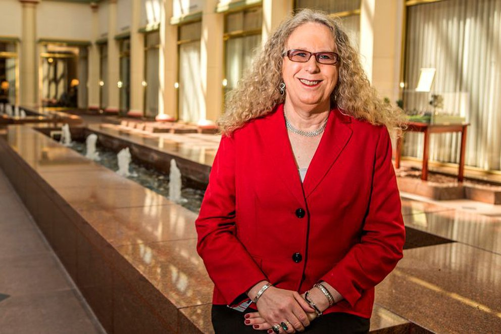 USA: Rachel Levine became the first transgender four-star official