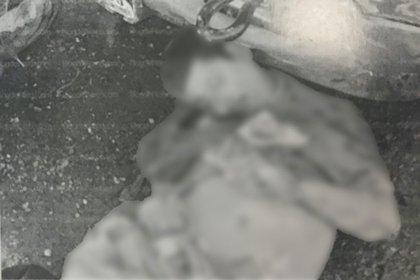 Entre los abatidos se observaban bolsas de frituras y empaques de comida chatarra (Foto: La Guerra de los Zetas, Diego Enrique Oosorno, Penguin Random House, 2012)