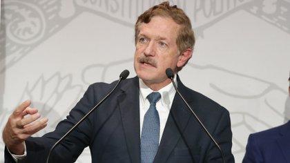 Juan Carlos Romero Hicks, ex gobernador de Guanajuato es uno de los miembros de Unidos por México (Foto: Cuartoscuro)