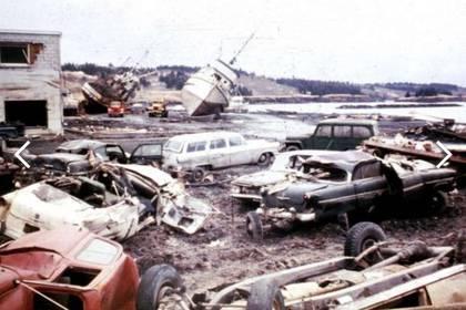 La pequeña población debió ser reconstruida tras el tsunami de 1964. (AP)