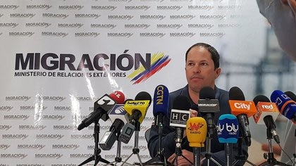 Juan Francisco Espinosa, director de Migración de Colombia (REUTERS/Luis Jaime Acosta)
