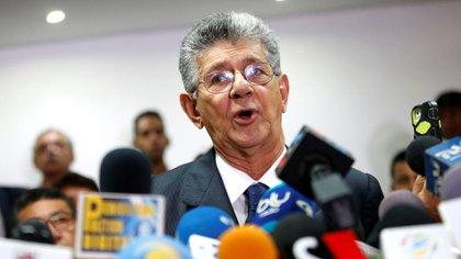 Henry Ramos Allup, líder de Acción Democrática (Foto: Reuters)