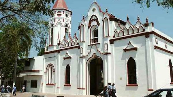 Iglesia de San José en Aracataca donde Gabriel García Márquez fue bautizado